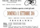 Ciclismo: Quasi tutto prono per la 27° Edizione della Teramo-Prati di Tivo